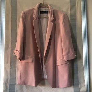 Zara Pink Blazer. Size XXL. Worn twice, like new.